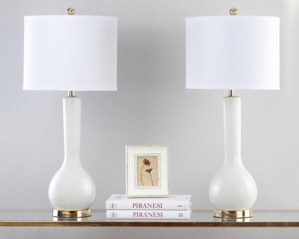 Linda table lamp reviews joss main linda table lamp aloadofball Gallery