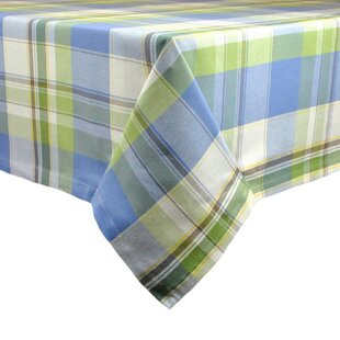 Lake House Plaid Tablecloth by Design Imports Cool
