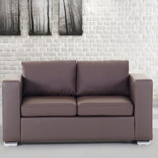 Enya Genuine Leather Loveseat