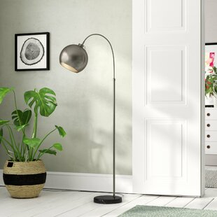 Comparison Lykens 61 Arched Floor Lamp By Wade Logan