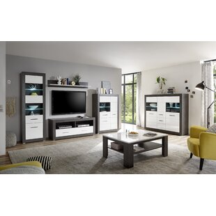 Balikpapan Entertainment Unit (Set Of 6) By Wade Logan