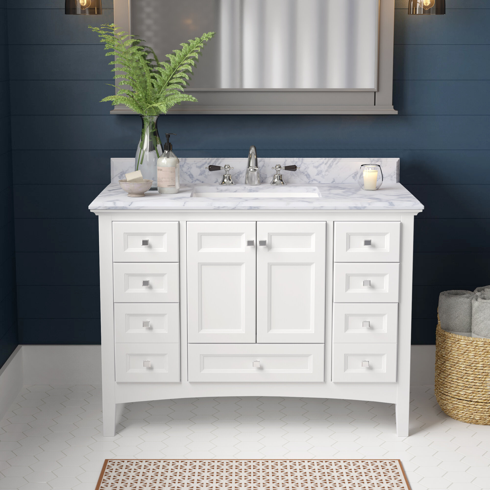 6 Drawer 42 Inch Vanities Wayfair