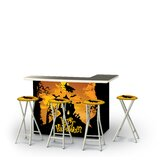 Zialan Halloween Witch 5-Piece Bar Set