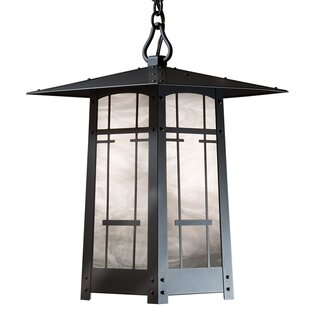 Dever 1-Light Outdoor Hanging Lantern By World Menagerie Outdoor Lighting