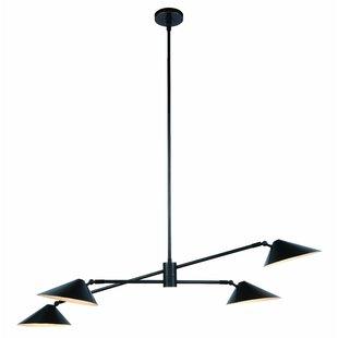 Corrigan Studio Donte 4-Light Sputnik Chandelier
