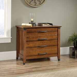 Newdale 2 Drawer Lateral Filing Cabinet. Coffee Oak Washington Cherry