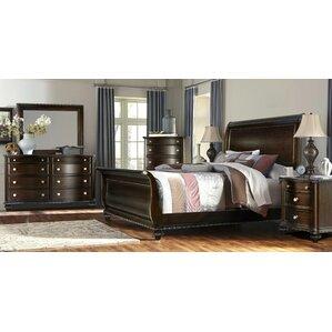 espresso bedroom furniture. Sleigh 4 Piece Bedroom Set Espresso Sets You ll Love  Wayfair