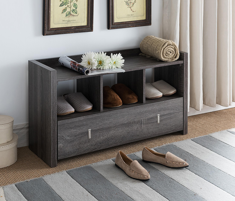 Pleasing Union Rustic Shoe Storage Bench Reviews Wayfair Creativecarmelina Interior Chair Design Creativecarmelinacom