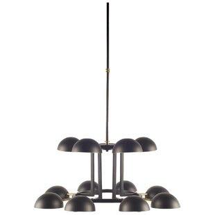 Brayden Studio Palos Cupola 12-Light Chandelier