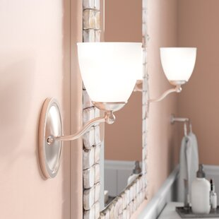 Rockford 1-Light Bath Sconce by Beachcrest Home