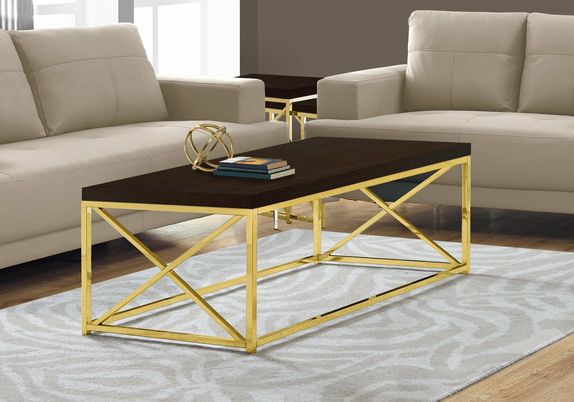 Monarch Specialties Inc. Coffee Table U0026 Reviews | Wayfair