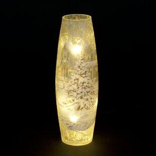Christmas House Vase Lamp By The Seasonal Aisle