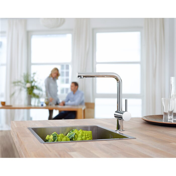 Grohe Minta Single Handle Pull-Out Kitchen Faucet & Reviews   Wayfair.ca