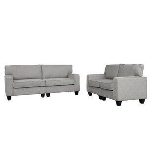 Ezias 2 Piece Living Room Set by Ebern Designs