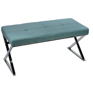 Cortesi Home Zio Upholstered Bench