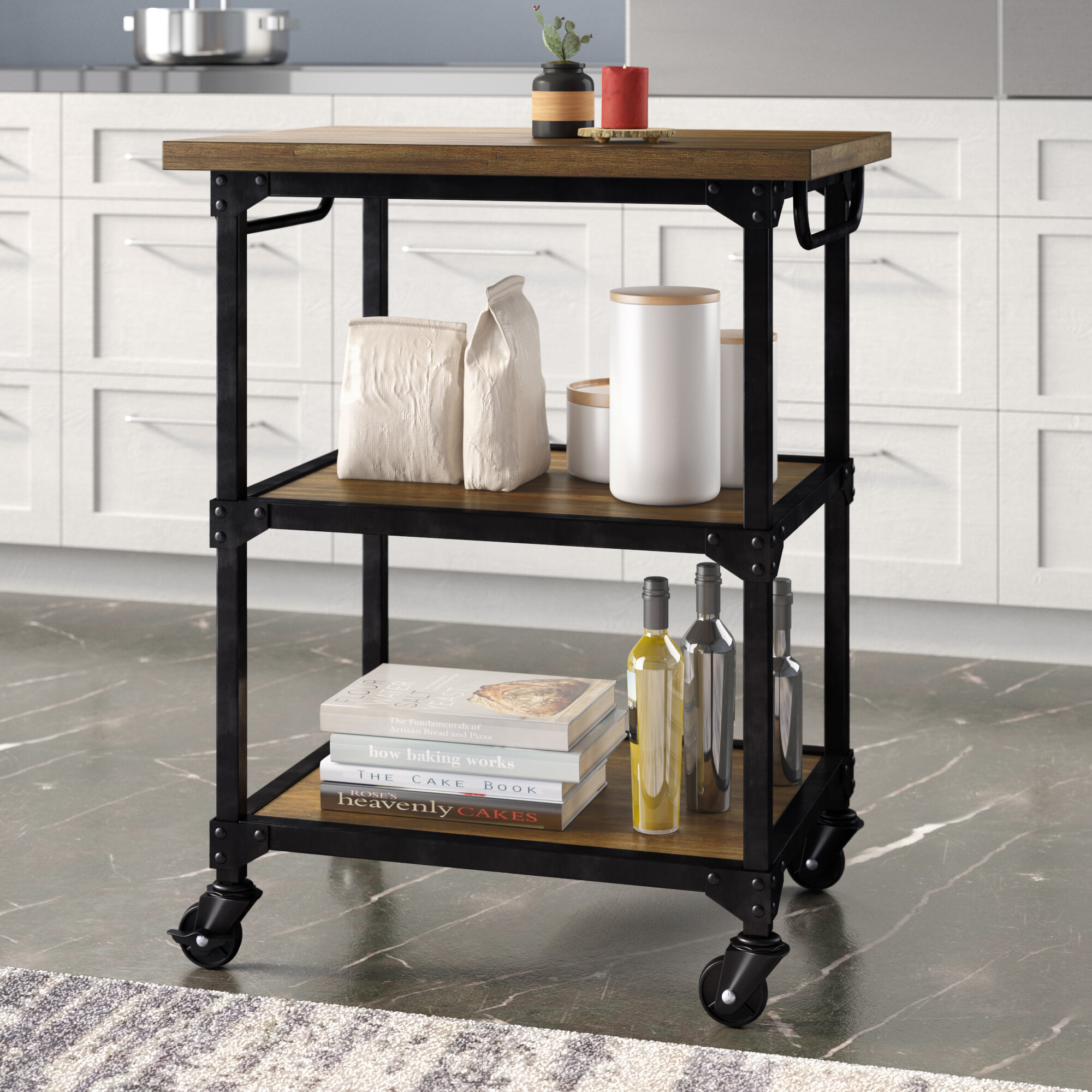Picture of: Black Kitchen Islands Carts You Ll Love In 2020 Wayfair