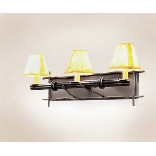 Steel Partners Bundle of Sticks 3-Light Vanity Light