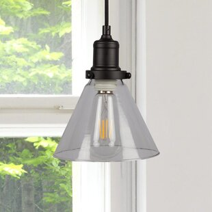 Breakwater Bay Wallick 1-Light Cone Pendant