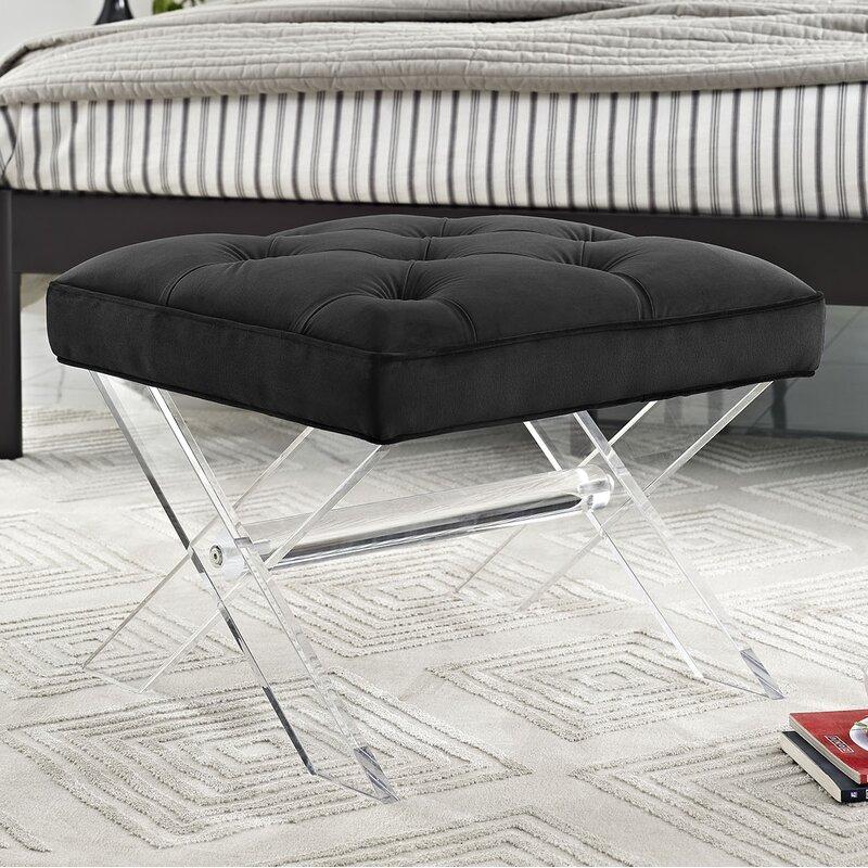 Excellent Modway Swift Vanity Bench Creativecarmelina Interior Chair Design Creativecarmelinacom
