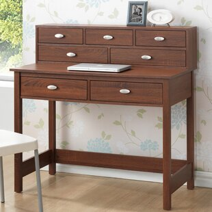 Baxton Studio McKinley Writing Desk with Hutch
