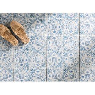 Shale 12 75 X Ceramic Field Tile In White Blue