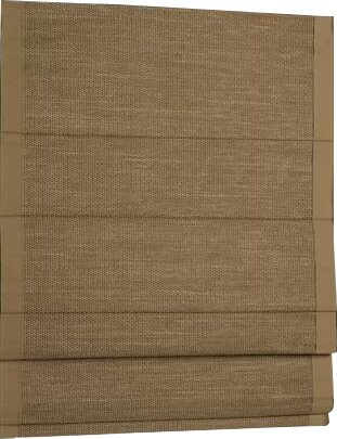 Woven Cane Paper Roman Shade