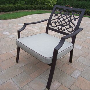 Patio Chair with Cushion (Set of 4)