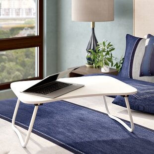 Portable Desk with Foldable Bottom Legs Laptop Tray by Symple Stuff