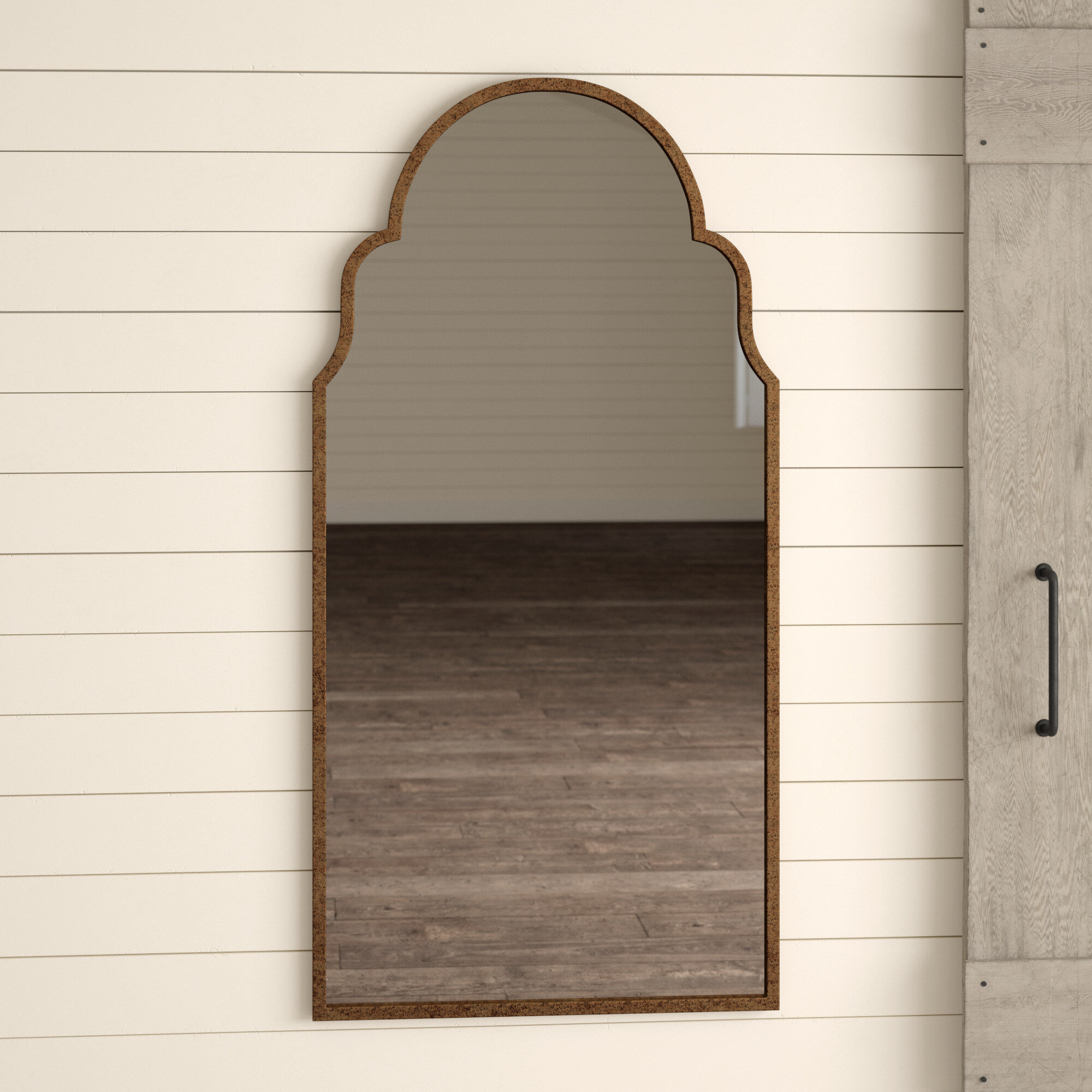 Torrence Tall Arch Accent Mirror Reviews Birch Lane