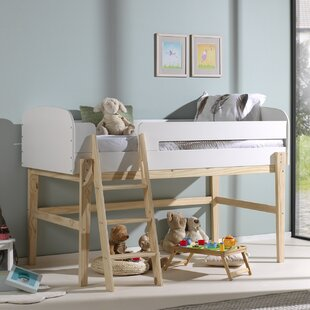 Eckert European Single Mid Sleeper Bed By Isabelle & Max