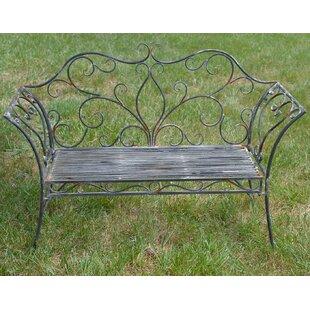 Metal Garden Bench by Attraction Design Home