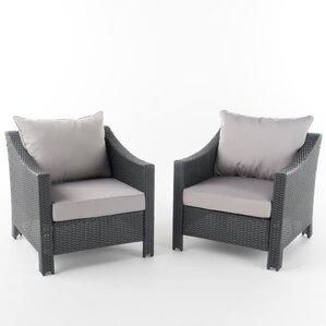 danica wicker club chair set of 2