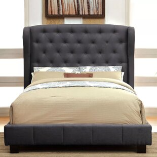 Canora Grey Camelford Upholstered Panel Bed