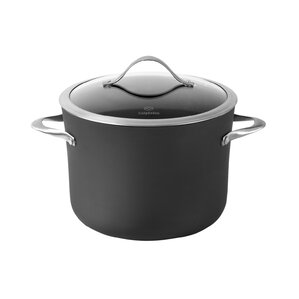 Contemporary Nonstick 8 Qt. Stock Pot with Lid