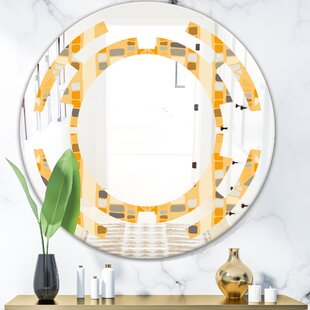 Geometrical Space II Modern Wall Mirror
