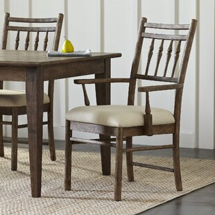 Riverbank Upholstered Dining Room Arm Cha..