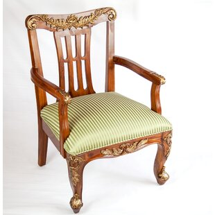 Classic Queens Arm Chair by The Silver Teak