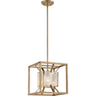 Highlawn 1-Light Square/Rectangle Pendant by Mercer41