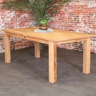 Pryer Wooden Dining Table By Sol 72 Outdoor