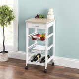 Shirk Kitchen Cart by Charlton Home®