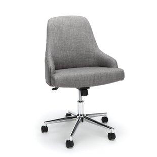 Langley Street Colebreene Lower Upholstered Home Desk Office Chair