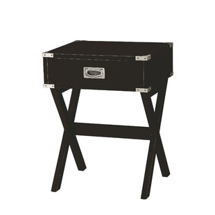 Hummer 1-Drawer End Table with Storage