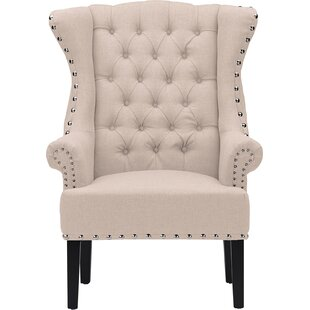 Great deal Kaczmarek Wingback Chair by Willa Arlo Interiors Reviews (2019) & Buyer's Guide
