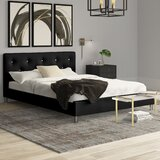 Iversen Upholstered Platform Bed by Mercury Row®