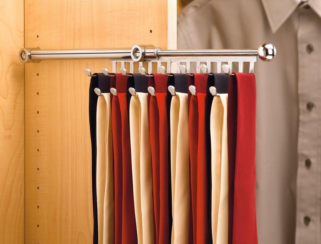 Rev-A-Shelf Pull-Out Tie Rack & Reviews   Wayfair