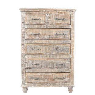 Loon Peak Pagano Tall 6 Drawer Accent Chest