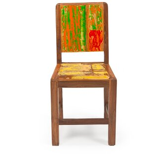 EcoChic Lifestyles Sargasso Reclaimed Solid Wood Dining Chair