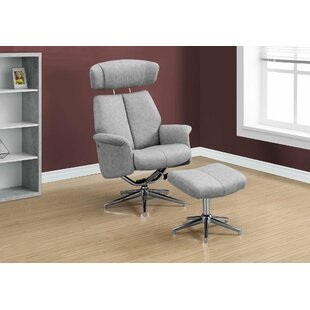 Maag Adjustable Headrest Manual Swivel Recliner by Ivy Bronx Best Choices