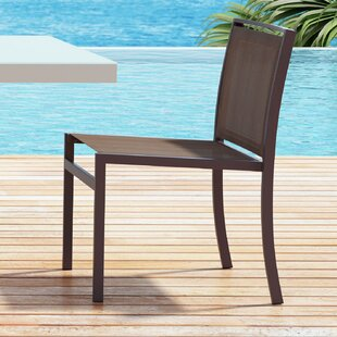 Orren Ellis Drumankelly Stacking Patio Dining Chair (Set of 2)
