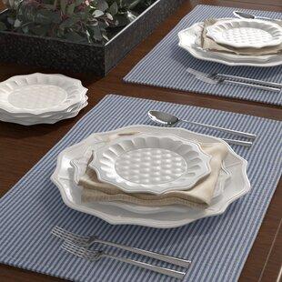 Melva Melamine Appetizer Plate (Set of 6)